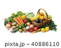 野菜と果物の集合 40886110