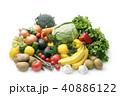 野菜と果物の集合 40886122