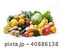 野菜と果物の集合 40886138
