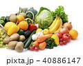 野菜と果物の集合 40886147