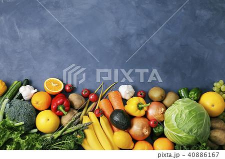 野菜と果物の集合 40886167