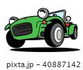 ベクター スポーツカー 車のイラスト 40887142