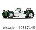 ベクター スポーツカー 車のイラスト 40887145