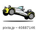 ベクター スポーツカー ライトウェイトのイラスト 40887146