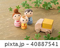 人形 家族 親子の写真 40887541