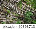 玄武洞公園で撮影された柱状節理 40893713