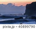 朝焼けと海 40899790