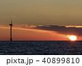 海夕焼け01 40899810