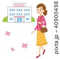 産婦人科に通う女性 40900498
