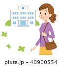 病院に通う女性 40900554