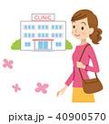産婦人科に通う女性 40900570