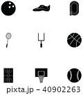 アイコン イコン スポーツのイラスト 40902263