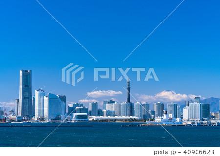 《神奈川県》横浜みなとみらい・都市風景 40906623