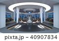 宇宙船 宇宙基地 スペースシップのイラスト 40907834