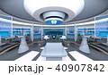 宇宙船 宇宙基地 スペースシップのイラスト 40907842