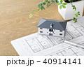 住宅 図面 間取り図の写真 40914141