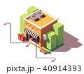 ベクトル ポスト 郵便のイラスト 40914393