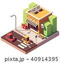 ベクトル ポスト 郵便のイラスト 40914395