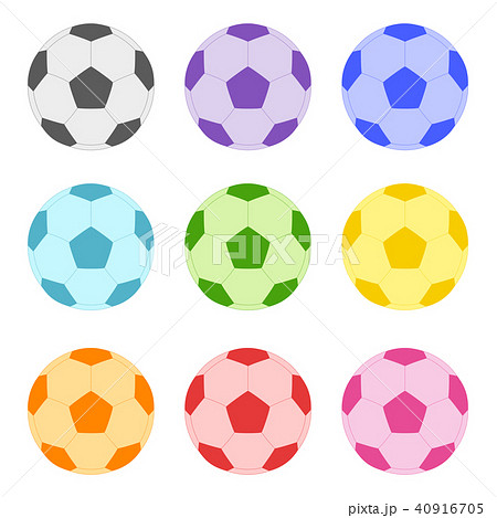 ボール イラスト サッカー