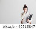 オペレーター・白バック 40916847