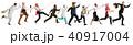 ユニフォーム 制服 人々の写真 40917004