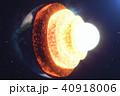 地球 大地 甲殻のイラスト 40918006