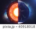 コア 芯 地球のイラスト 40918018