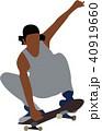 スケートボード 40919660