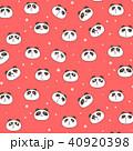 ぱんだ パンダ かわいいのイラスト 40920398