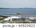 江の島 展望台 江の島ヨットハーバーの写真 40920822