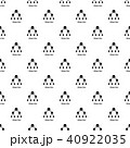 パターン 柄 模様のイラスト 40922035