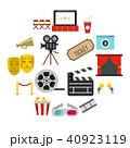 映画 シネマ 映画館のイラスト 40923119
