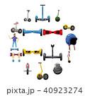 スクーター バランス 平衡のイラスト 40923274