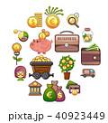 ビジネス 職業 アイコンのイラスト 40923449