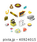 カジノ カジノの イコンのイラスト 40924015