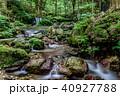 瓜割の滝 名水百選 初夏の写真 40927788
