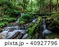 瓜割の滝 名水百選 初夏の写真 40927796
