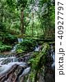 瓜割の滝 名水百選 初夏の写真 40927797