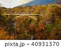 紅葉 鳴子峡 秋の写真 40931370