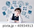 少年 人工知能 男の子の写真 40934913