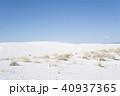 風景 砂漠 ホワイトサンズの写真 40937365