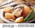 ブリ大根 煮物 食べ物の写真 40938588