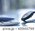 キーボード 時計 腕時計の写真 40944799