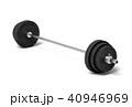 バーベル メタル 重量のイラスト 40946969