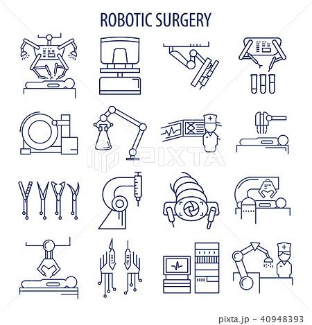 Robotic surgery set 40948393