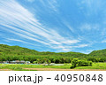 青空 初夏 山の写真 40950848