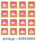 ピンク ピンク色 桃色のイラスト 40954669
