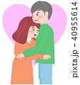 抱き合うカップル 40955614