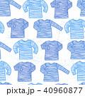 Ink hand drawn seamless pattern seadogs singlets 40960877