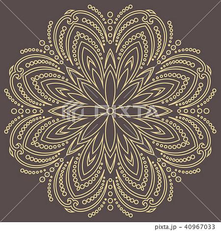 Elegant Vector Ornament in Classic Style 40967033